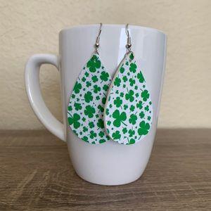 St. Patrick's Day Earrings - Shamrock 1